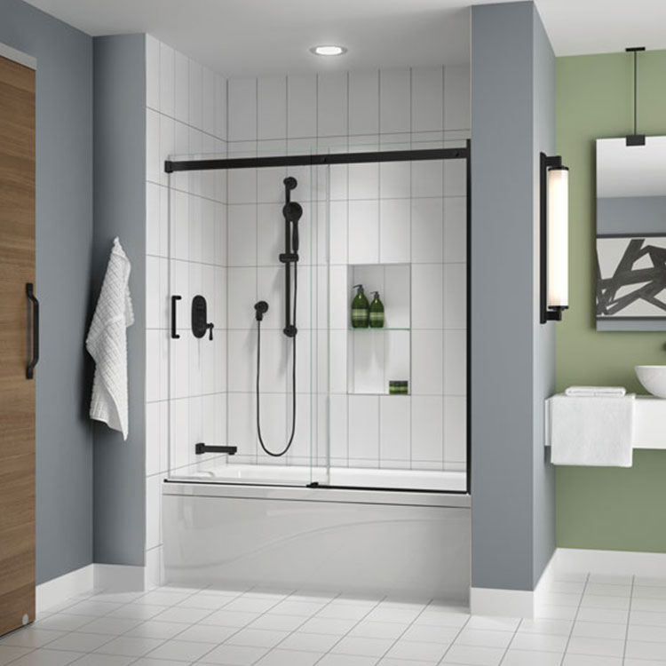 Shower Door Apollo Tub