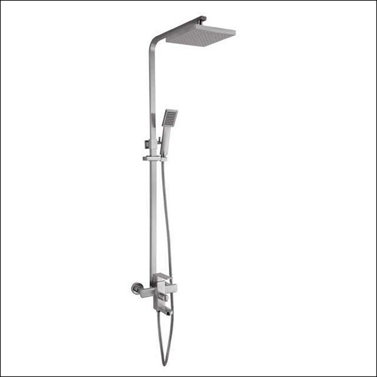 Quadro Shower Pole w/Spout