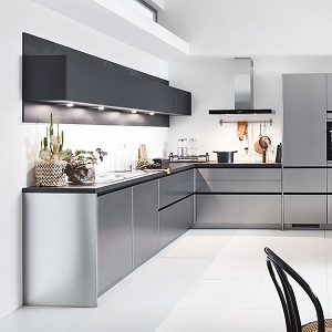 Kitchen Inox Brushed Steel