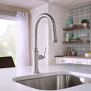 Kitchen Faucet Draper Stainless Steel