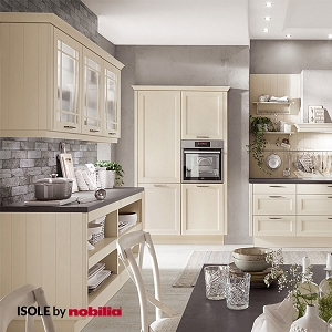 Kitchen York Lacquered Ivory