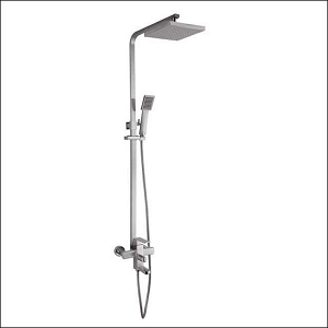 Quadro Shower Pole w/Spout