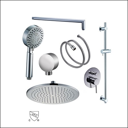 Shower Set Tondo Diverter 12""