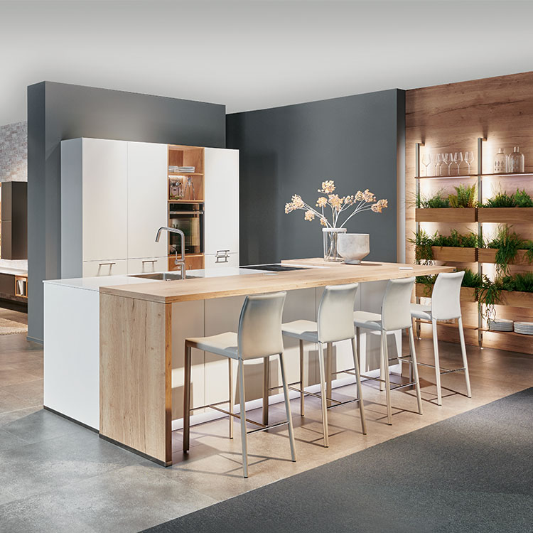 Kitchen Fashion Honed Alpine White
