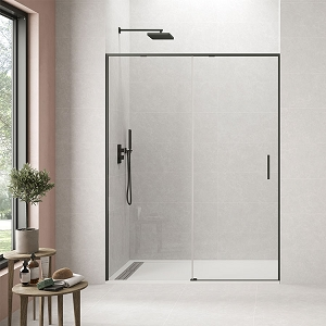 Shower Door Twenty Black