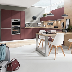 Kitchen Easytouch Rust Red Ultra Matt