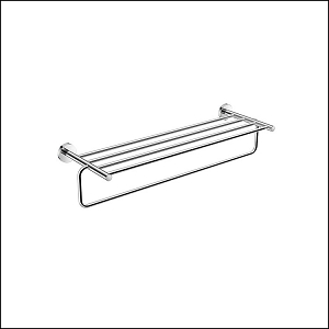Basic Towel Shelf with Bar