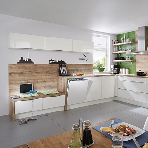Kitchen Focus White Ultra High Gloss